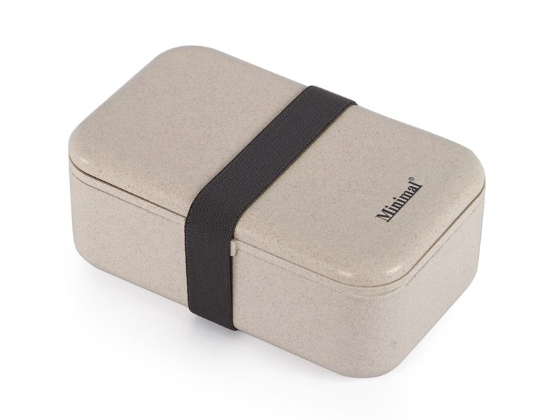 Minimal Natural Fiber Bento Box V2, 900ml