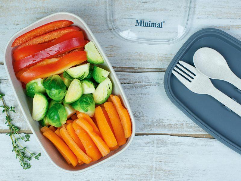 Natural Fiber Salad Box, 600ml
